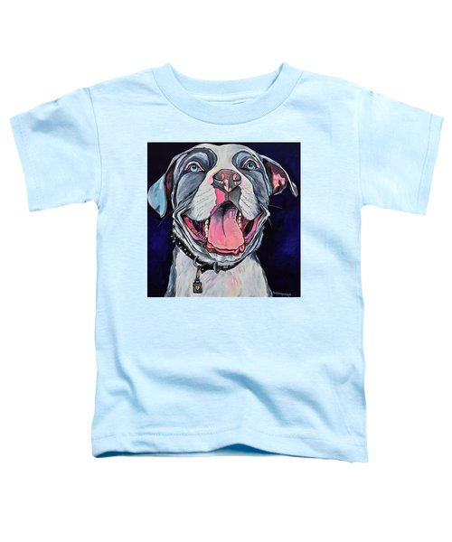 Pit Bull Love Toddler T-Shirt