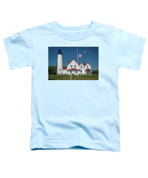 Point Iroquois Lighthouse Toddler T-Shirt