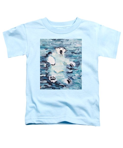 Polar Bear Toddler T-Shirt
