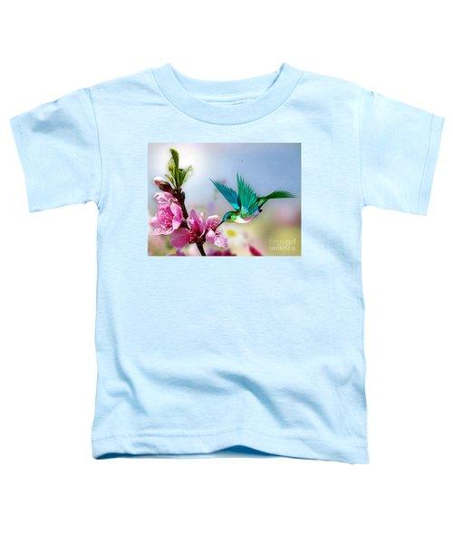Pretty Hummingbird Toddler T-Shirt