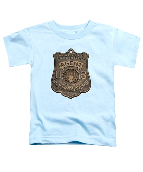 Prohibition Agent's Badge - C. 1920s Toddler T-Shirt