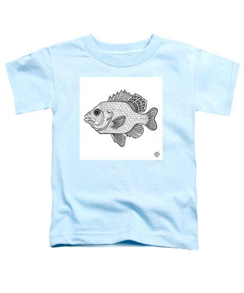 Pumpkinseed Fish Toddler T-Shirt