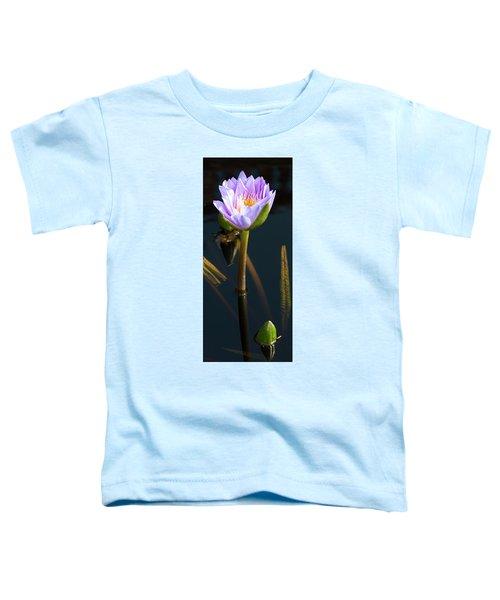 Purple Elegance Toddler T-Shirt