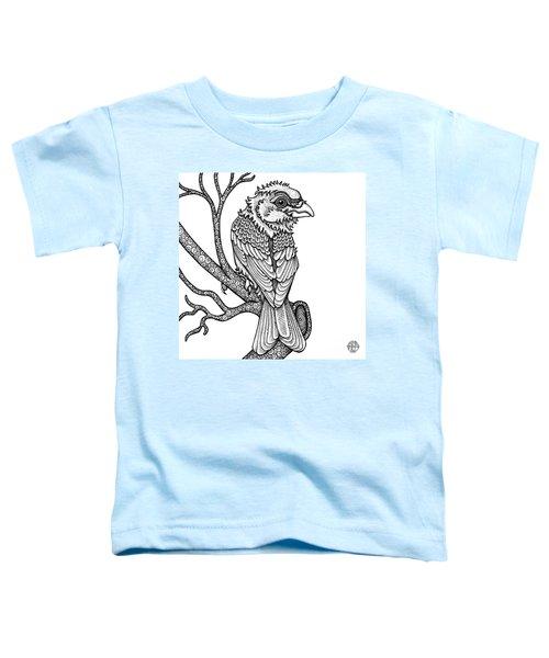 Purple Finch Toddler T-Shirt