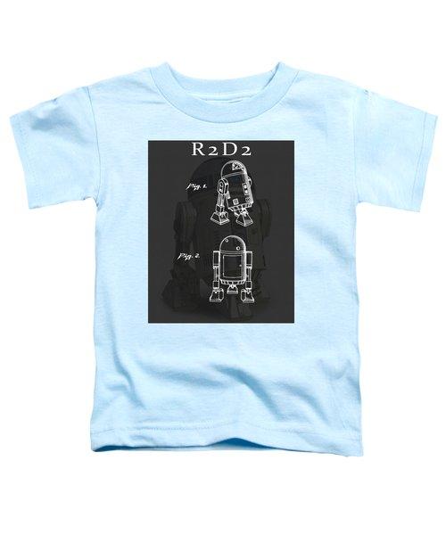 R2d2 Patent Toddler T-Shirt