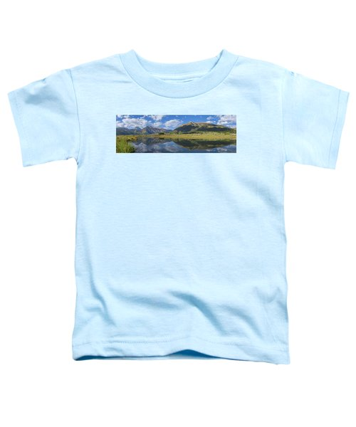 Reflections Of The Sawatch Range In The Autumn Toddler T-Shirt