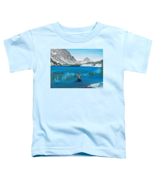 Relaxing At Skelton Toddler T-Shirt