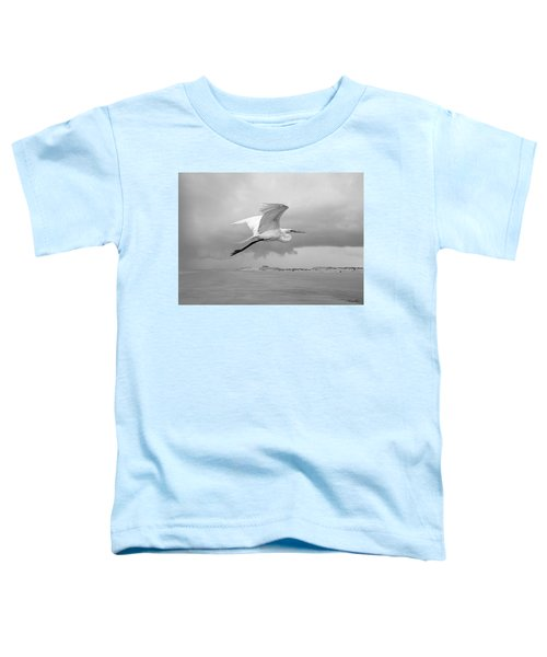 Retreat From Coming Storm Toddler T-Shirt
