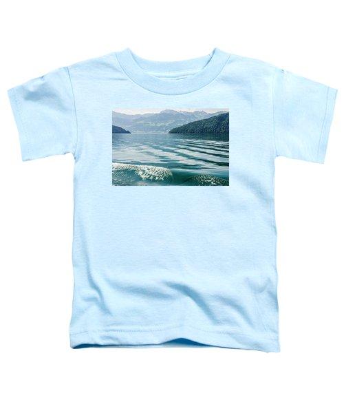 Ripples On Lake Lucerne Toddler T-Shirt