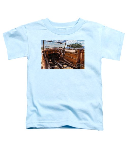 Rusty Car Leftovers Toddler T-Shirt