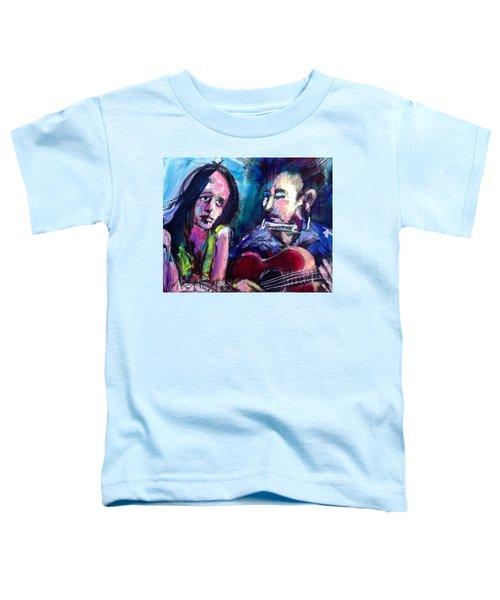 Sad Eyed Lady Toddler T-Shirt