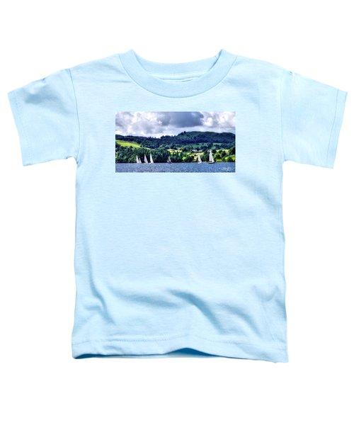 Sailing In Heaven Toddler T-Shirt
