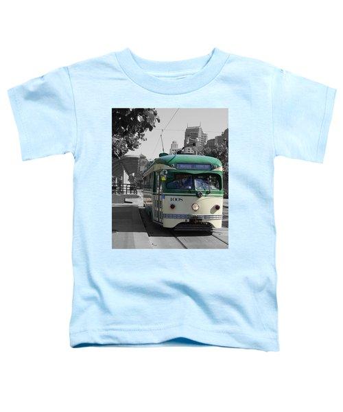 San Francisco - The E Line Car 1008 Toddler T-Shirt