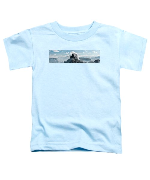 Scenic View Of Rock Formations, Half Toddler T-Shirt
