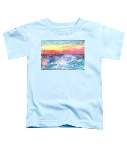 Sea Wave Toddler T-Shirt