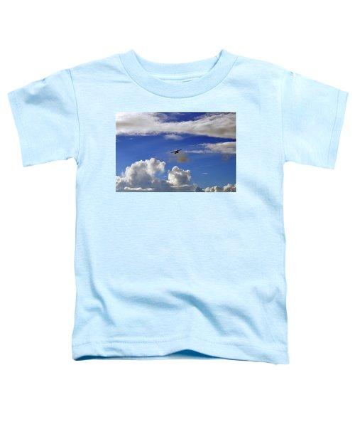 Seaplane Skyline Toddler T-Shirt