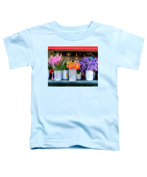 Seattle Flower Market Toddler T-Shirt