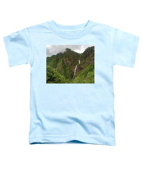 Shenlong Waterfall 8x10 Horizontal Toddler T-Shirt