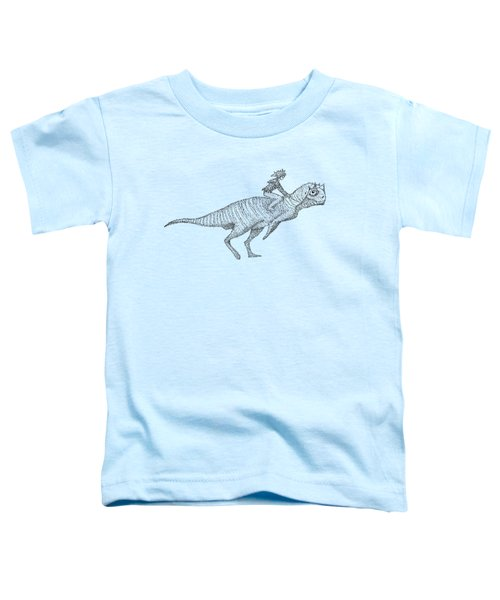 Siberian Dinosaur Toddler T-Shirt