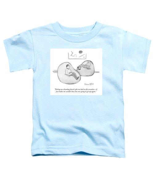Sitting On A Beanbag Toddler T-Shirt