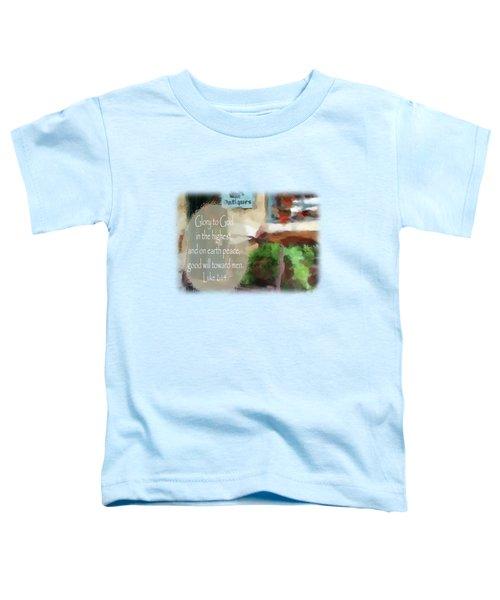 Sleigh Ride - Verse Toddler T-Shirt