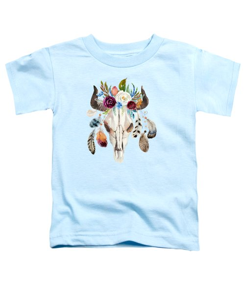Southwestern Art Rustic Glam Boho Chic Toddler T-Shirt