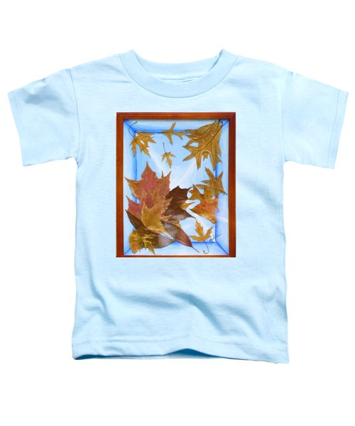 Splattered Leaves Toddler T-Shirt