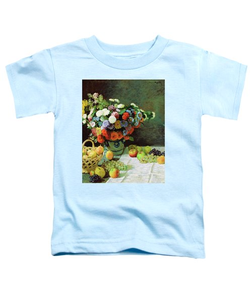 Still Life With Flowers And Fruit - Digital Remastered Edition Toddler T-Shirt