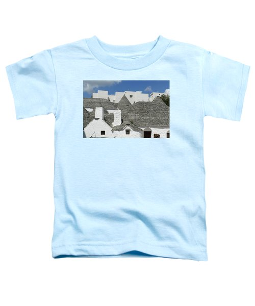Stone Coned Rooves Of Trulli Houses Toddler T-Shirt