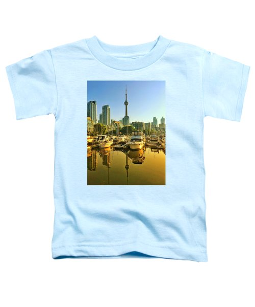 Sunrise At The Harbour Toddler T-Shirt