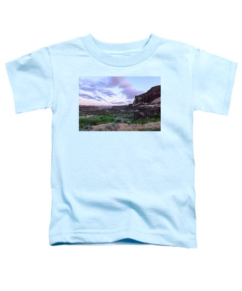 Sunrise In The Ancient Lakes Toddler T-Shirt