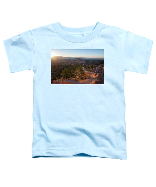 Sunrise Over Bryce Canyon Toddler T-Shirt
