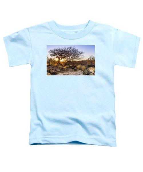 Sunset In The Erongo Bush Toddler T-Shirt
