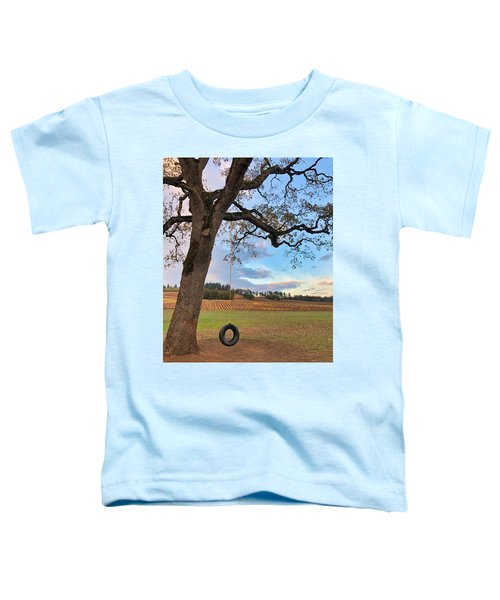 Swing In Tree Toddler T-Shirt
