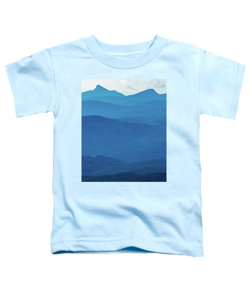 Table Rock And Hawksbill  Mountain - Linville North Carolina - Blue Ridge Parkway Toddler T-Shirt