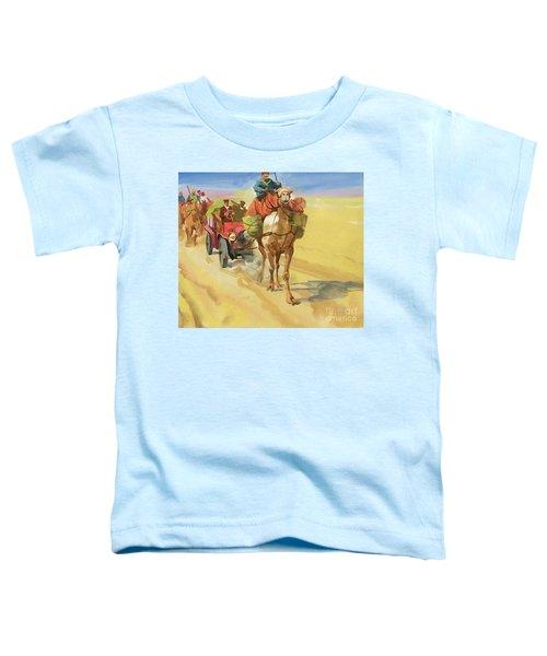 Ten Thousand Mile Motor Race Camel Train Toddler T-Shirt