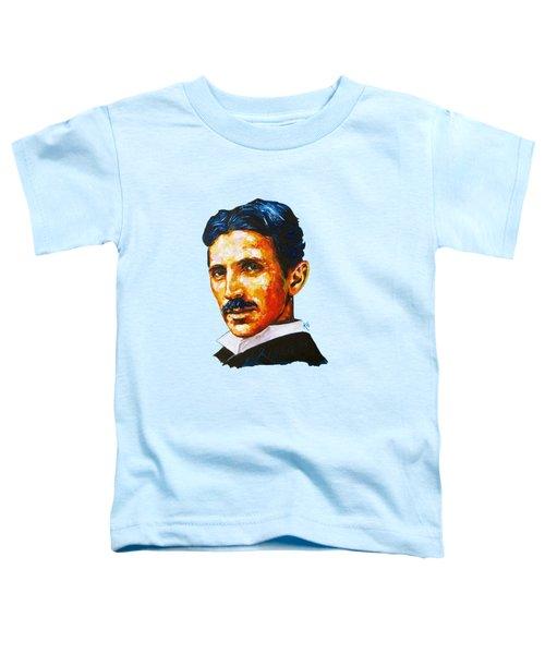 Tesla - Pure Genius Toddler T-Shirt