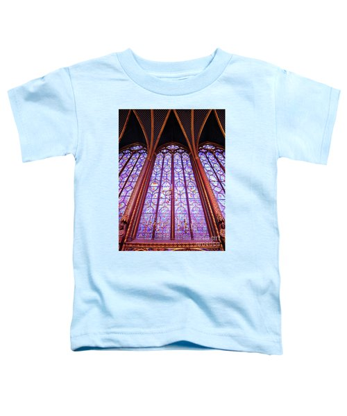 The Awe Of Sainte Chappelle Toddler T-Shirt
