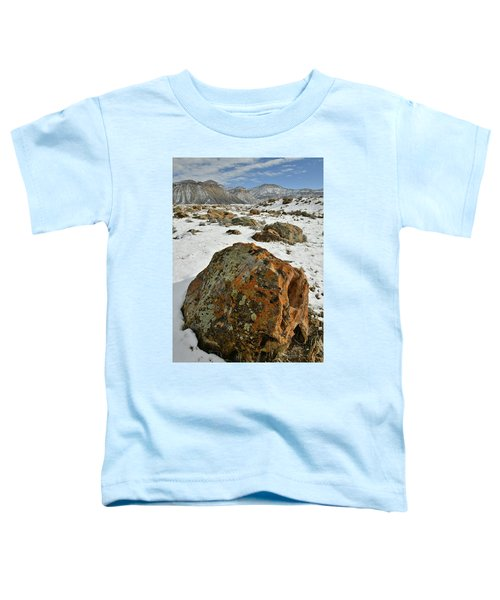 The Book Cliff's Colorful Boulders Toddler T-Shirt