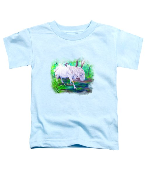 The Butterfly And The Pony Toddler T-Shirt