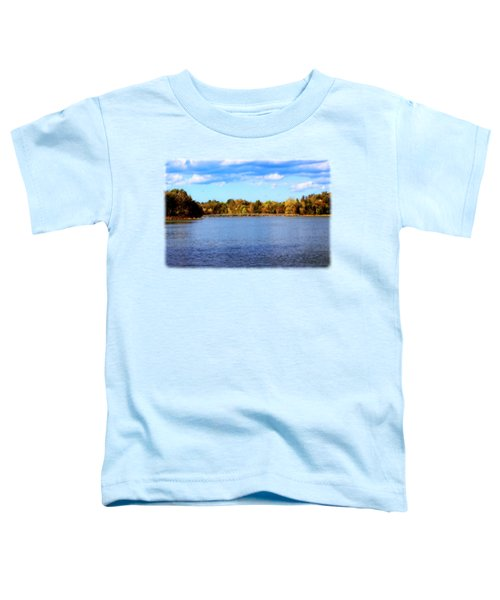 The Lake In Autumn Toddler T-Shirt