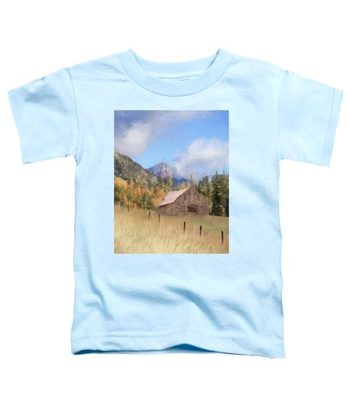 The Old Hunting Cabin Toddler T-Shirt