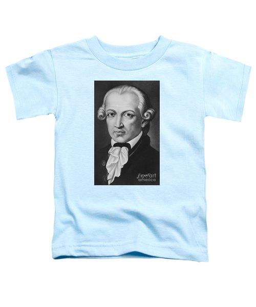 The Philosopher Immanuel Kant Toddler T-Shirt
