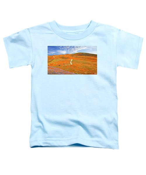 The Trail Through The Poppies Toddler T-Shirt