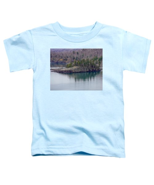 Tranquility In Silver Bay Toddler T-Shirt