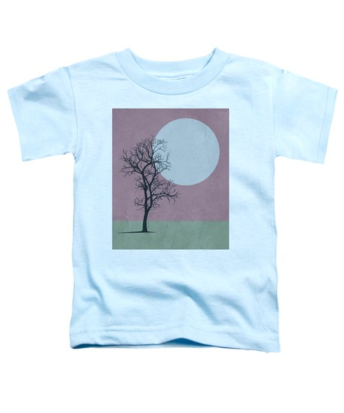 Tree And The Moon Toddler T-Shirt