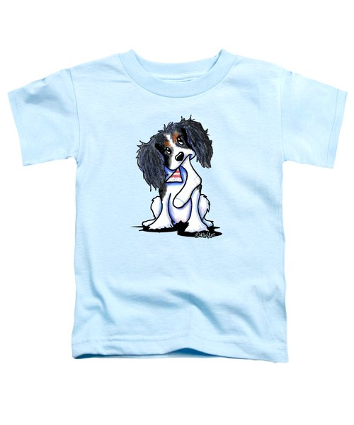 Tri Color Cavalier Spaniel Toddler T-Shirt