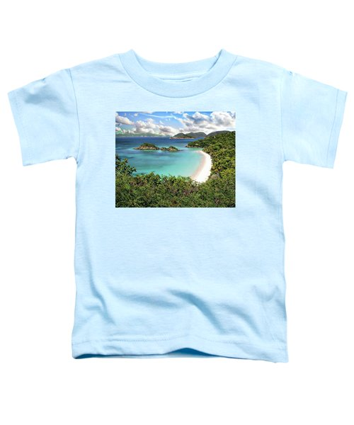 Trunk Bay Toddler T-Shirt