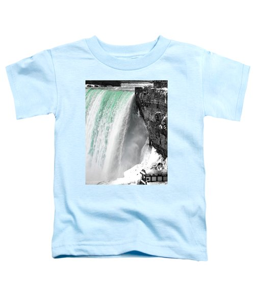 Turquoise Falls Toddler T-Shirt