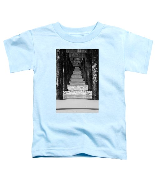 Under The Pier #2 Bw Toddler T-Shirt
